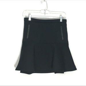 Club Monaco Black Mini Skirt Size 0